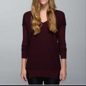 Lululemon The Sweater Life cashmere blend sweater
